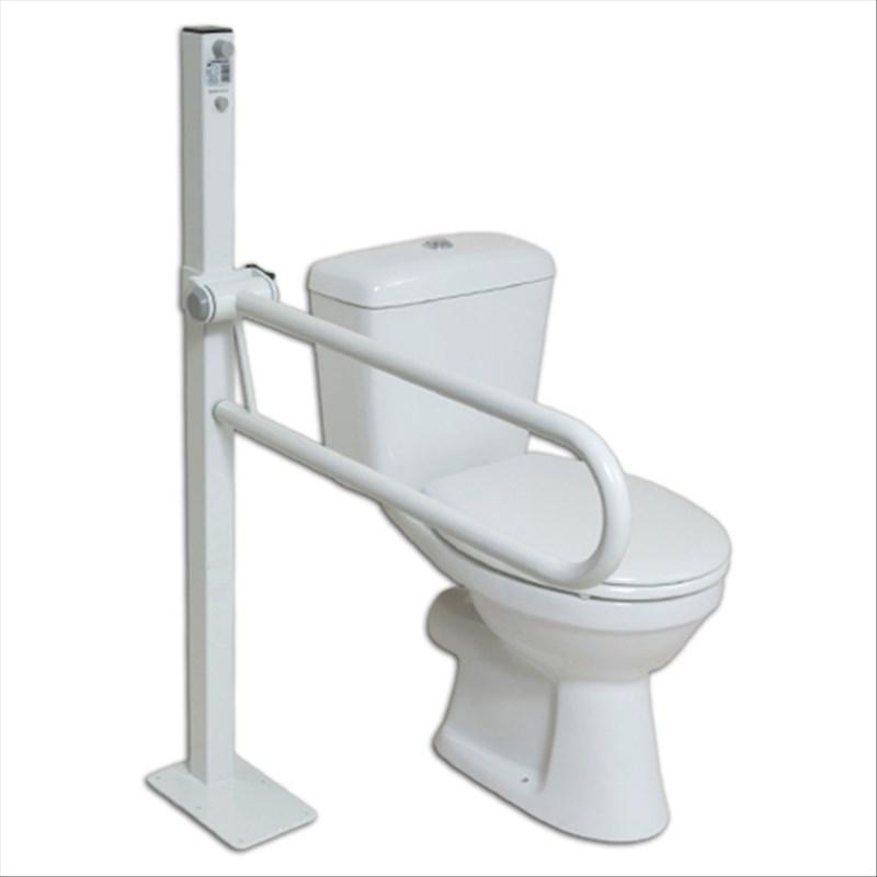 Barre Dappui Pour Toilettes Fixee Au Sol
