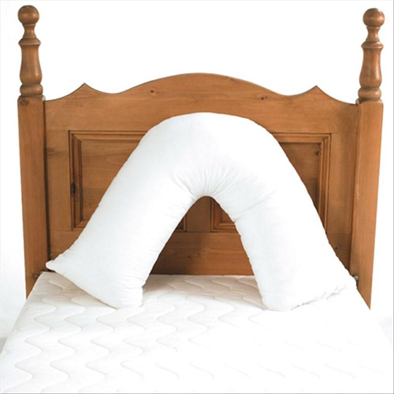 Coussin pour le dos en forme de V – Assise confortable