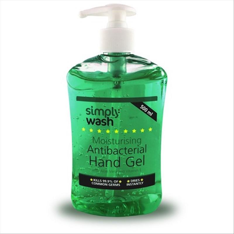 87678601a829 Gel antibactérien pour les mains - bouteille à poussoir 500 ml