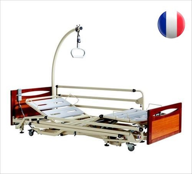 lit mdicalis alzheimer euro 3802 avec panneaux main courante - Lit Medicalise