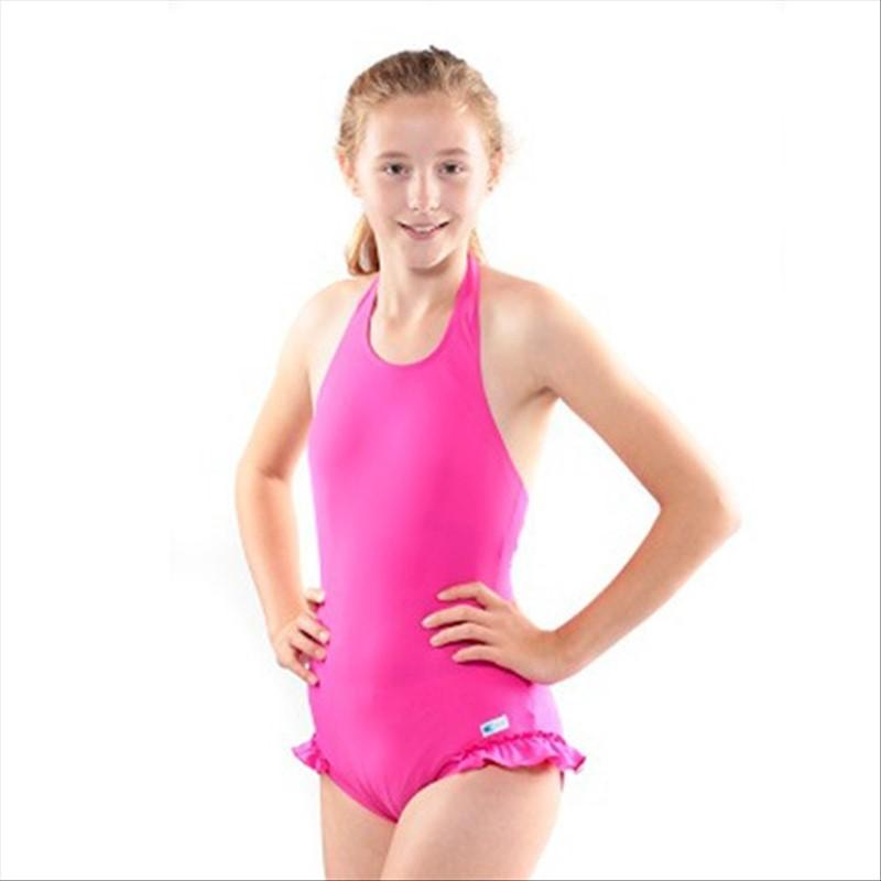 delicate colors reasonably priced usa cheap sale Maillot de bain incontinence - fille - Rose - 9/10 ans