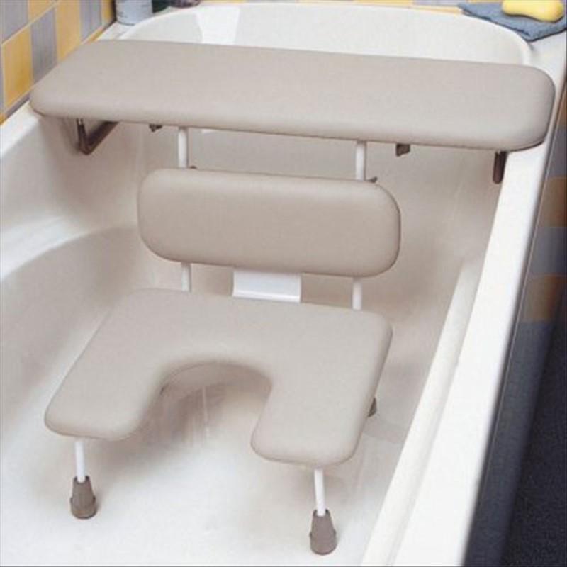 Utiliser Une Chaise Pour Baignoire Assise Découpée à Lavant