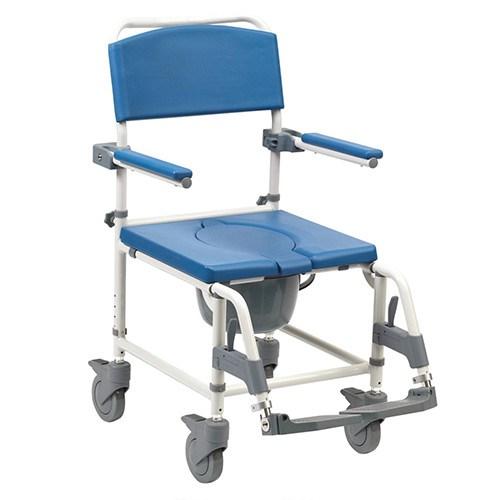 chaise perc e pour douche r glable. Black Bedroom Furniture Sets. Home Design Ideas
