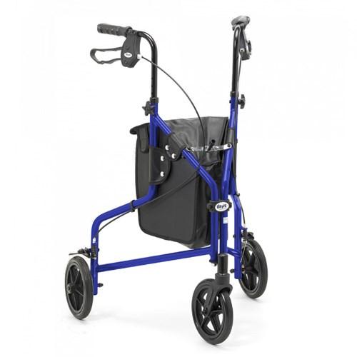 trouver votre d ambulateur tout terrain avec 3 roues bleu careserve. Black Bedroom Furniture Sets. Home Design Ideas