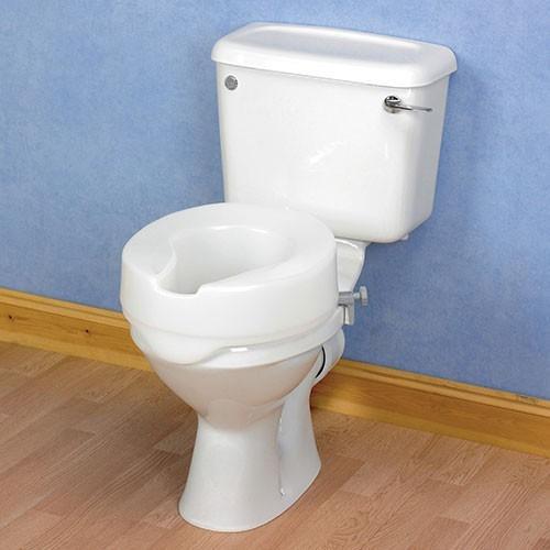 choisir le r hausseur de toilettes ashby easyfit 15 cm. Black Bedroom Furniture Sets. Home Design Ideas