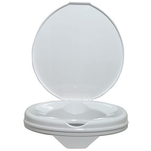 commander le rehausseur de toilettes avec couvercle prima 15 cm. Black Bedroom Furniture Sets. Home Design Ideas