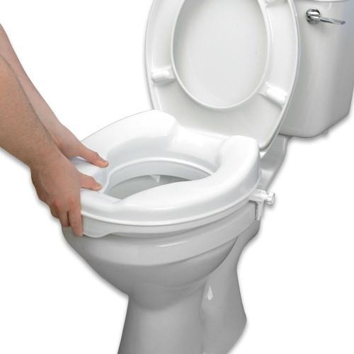 trouver un rehausseur de toilettes savanah 10 cm. Black Bedroom Furniture Sets. Home Design Ideas