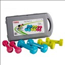 Set d'haltères 10kg York Dumbbell
